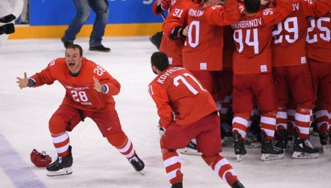 """""""Все ребята просто красавцы"""". Российские хоккеисты о победе на Олимпийских играх"""