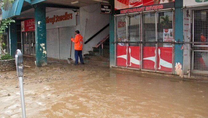 Fidži plūdu dēļ 8000 bez pajumtes