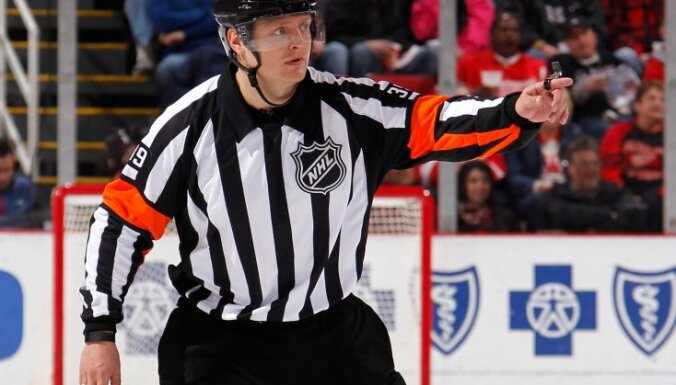 Evgeny Romasko, first Russian referee in NHL