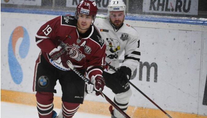Rīgas 'Dinamo' atkal aizspēlējas līdz pagarinājumam un zaudē 'Traktor'