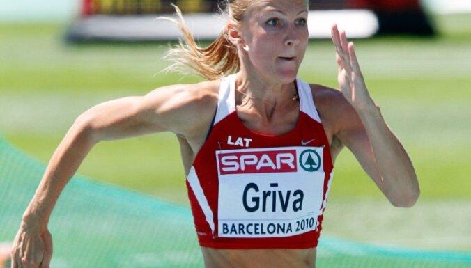 Прыгунья в длину Лаума Грива показала второй результат в Европе