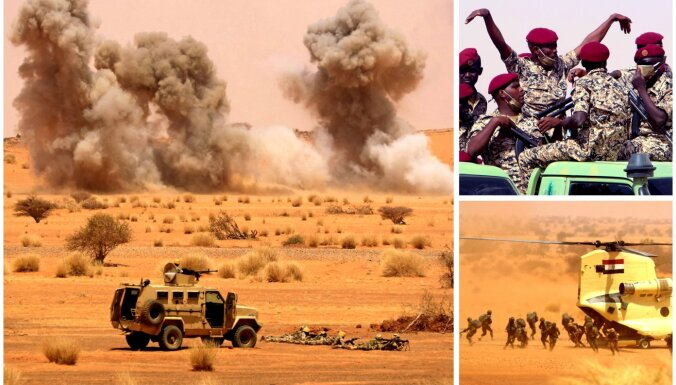 Foto: Briestot spriedzei ar Etiopiju, Sudāna un Ēģipte rīko 'Nīlas sargu' mācības