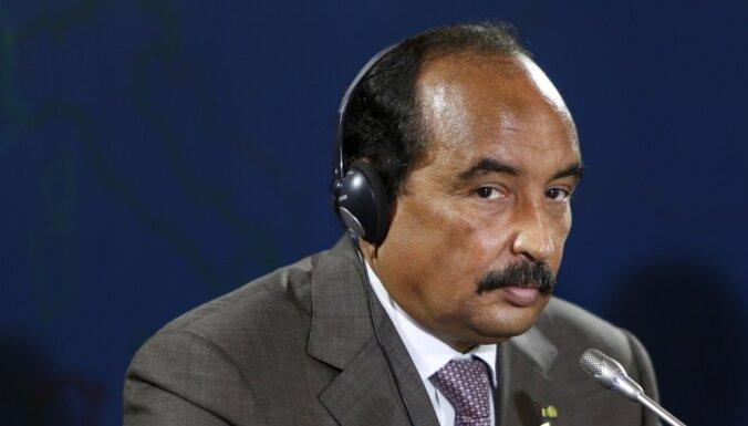 Garlaicības mākts, Mauritānijas prezidents iejaucas futbola spēlē
