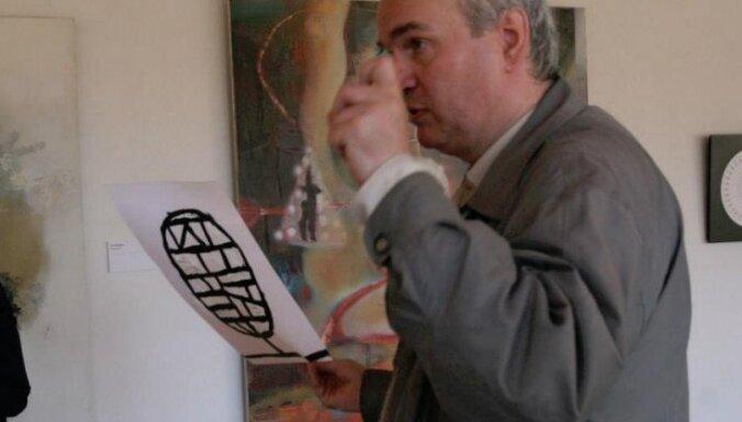Māris Subačs un Madara Gruntmane radošajā vakarā izstādē 'Atpakaļ haosā'