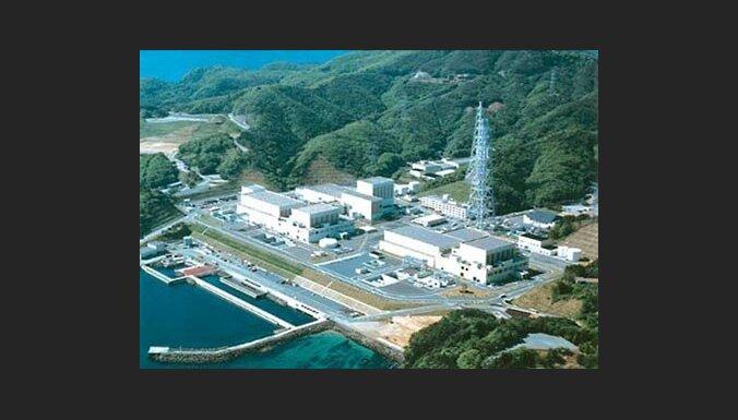 Japānā apturēts priekšpēdējais aktīvais atomreaktors