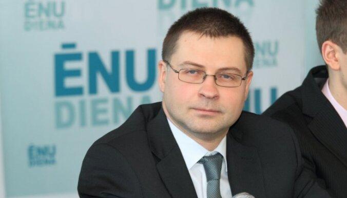 Домбровскис поддержит роспуск Сейма и готов вновь возглавить правительство