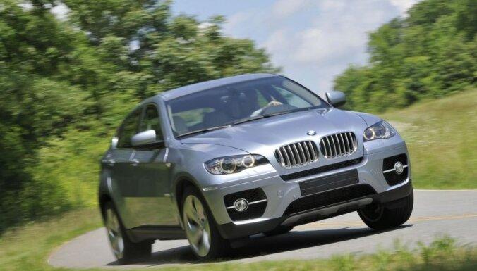 В Латвии поймали эстонца на краденной в Швеции BMW X6