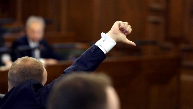 За проведение референдума о роспуске Сейма подписались более 30 000 человек