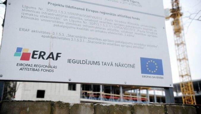 Pērn ES fondu izlietojumā konstatētas 1238 neatbilstības 2,72 miljonu eiro apmērā