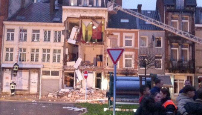 Sprādzienā dzīvojamā ēkā Beļģijā 13 cietušie
