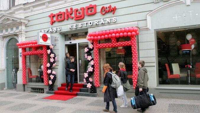 Finanšu policija sākusi kriminālprocesu pret ēdinātāju 'Tokyo City', vēsta raidījums