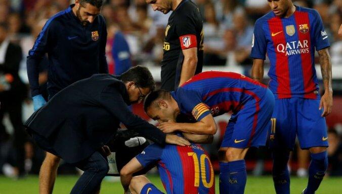 Messi trauma