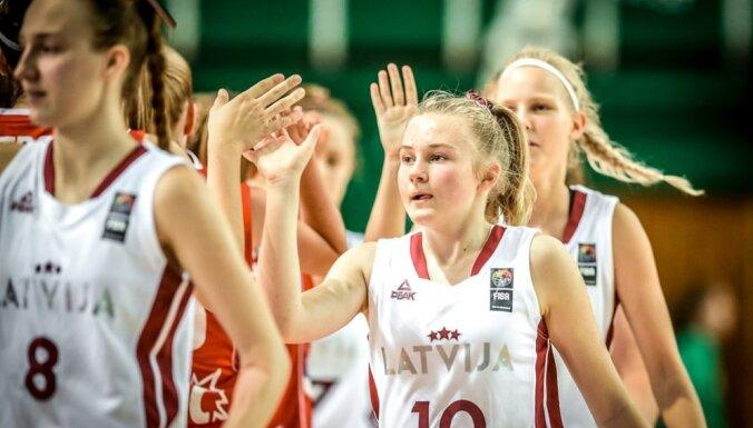 Latvijas U-16 basketbolistes ar uzvaru noslēdz pārbaudes turnīru Francijā