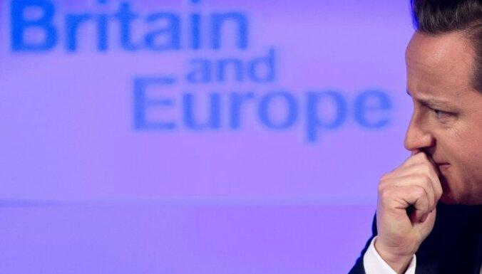 Кэмерон объявил политическое объединение Европы ошибкой