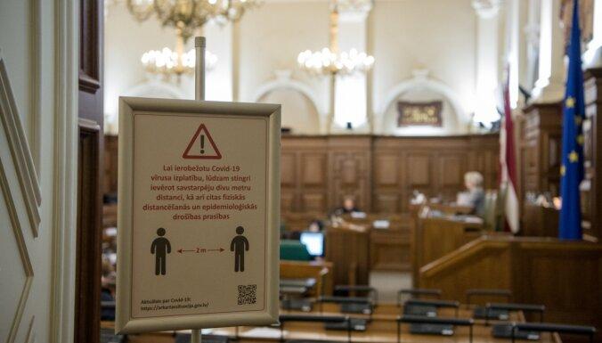 Saeima lemj ļaut pagarināt vecāku pabalstus, ja tie beidzas ārkārtējās situācijas laikā