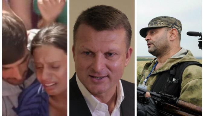 Video apskats: Šlesers par 'Oligarhu lietu', Krievijā iznīcina rietumu pārtiku, bēgļu ciešanas Grieķijā