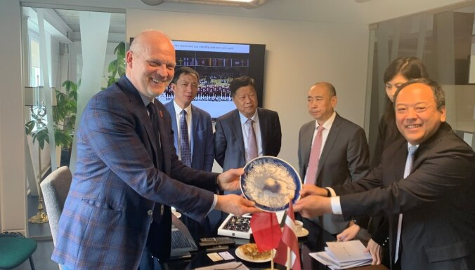 Latvijas Hokeja federācija uzsāks sadarbību ar Ķīnas pilsētu Harbinu