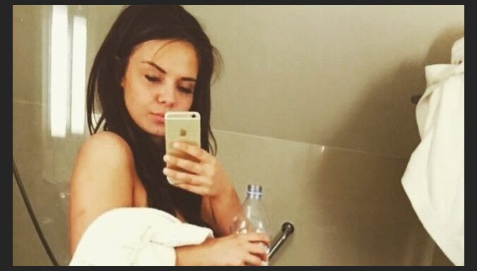 Selfiju karaliene santa čerņevska