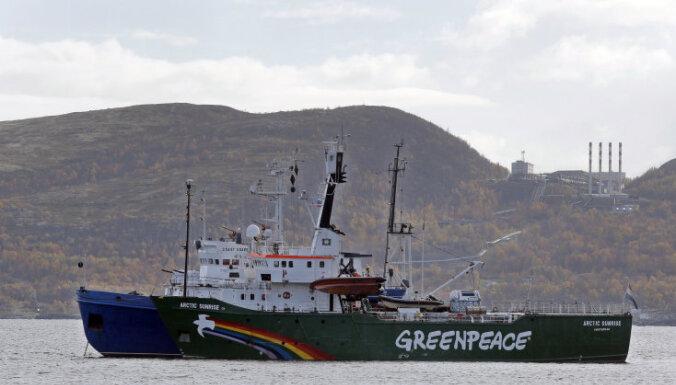 Всем активистам с судна Arctic Sunrise предъявлены обвинения в пиратстве