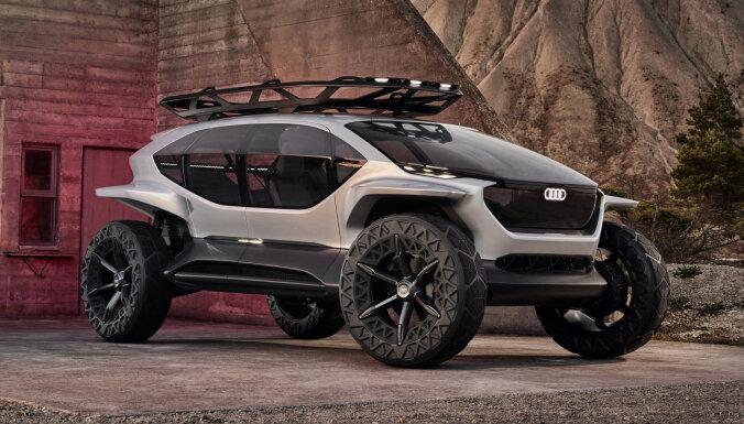'Audi' prezentējis elektromobiļa prototipu bezceļu braukšanai