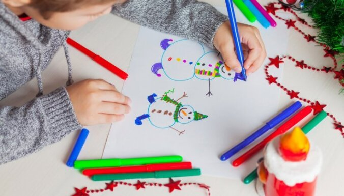 Skolēnus aicina radīt zīmējumus mediķu uzmundrināšanai un pateicības izteikšanai