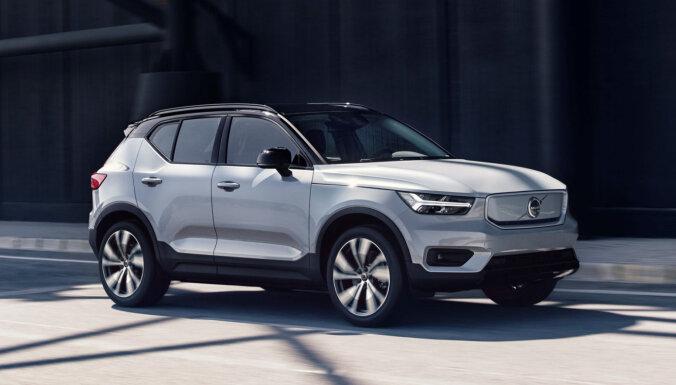 'Volvo' prezentējis pirmo 'Recharge' modeli – elektrisko 'XC40' apvidnieku
