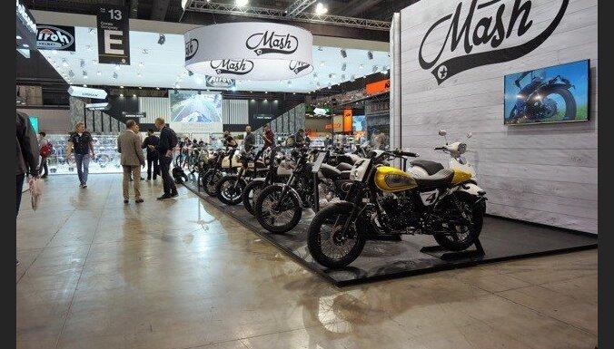 Franču motociklu marka 'Mash' prezentējusi savus jaunākos modeļus
