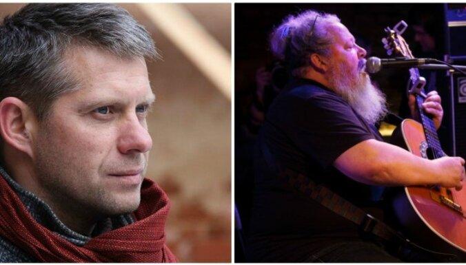 Latvijas 1. rokkafejnīcā muzicēs Haralds Sīmanis un Dinārs Gulbis
