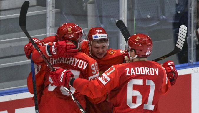 На чемпионате мира по хоккею определились полуфинальные пары и время их матчей