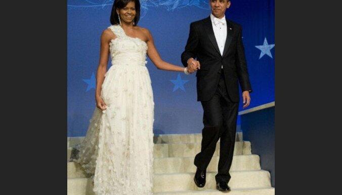 Мишель Обама блистала на балу в платье от Jason Wu
