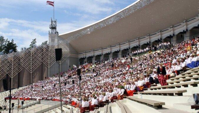 Участников Праздника песни агитировали за роспуск Сейма