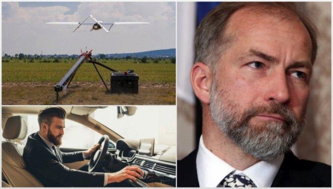 'Delfi plus': noslēpumainais drons, kritums auto tirgū un zemestrīces prognozes