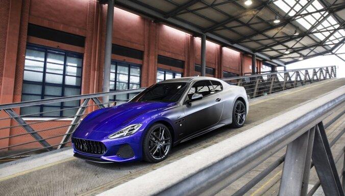 'Maserati GranTurismo' ražošanu noslēdz ar unikālo 'Zéda' versiju