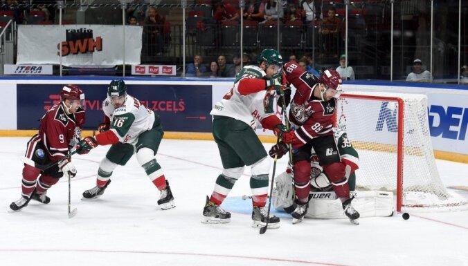 Rīgas 'Dinamo' balsos par izmaiņām KHL čempionāta vērtēšanā