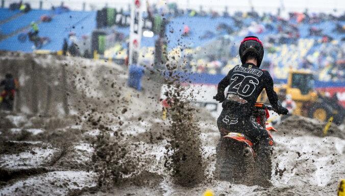 Latvijas motokrosa izlase izcīna savu labāko rezultātu Nāciju kausā