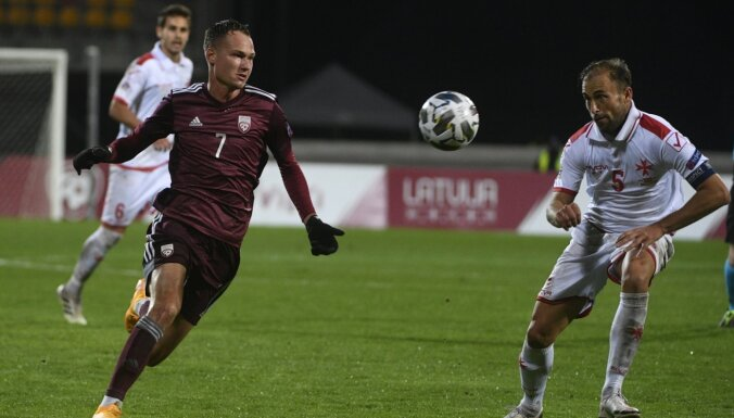 Arī Latvijas izlases futbolists Emsis saslimis ar Covid-19 - DELFI