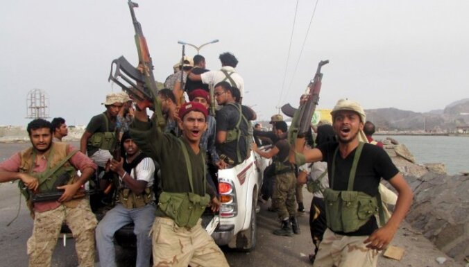 Jemenā nemiernieku uguns nogalinājusi 43 civiliedzīvotājus