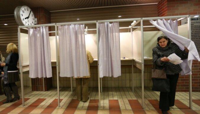 Lietuvā notiek Seima vēlēšanas