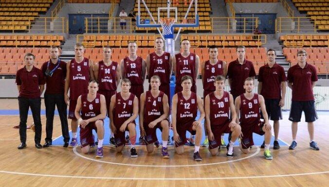 Latvijas U-20 basketbolisti ar uzvaru noslēdz neveiksmīgo EČ pirmo posmu