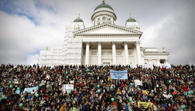 В Финляндии прошли многотысячные протесты против расизма