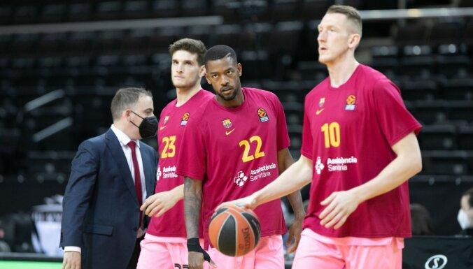 Šmits ar daudzpusīgu sniegumu palīdz 'Barcelona' komandai nodrošināt pirmo vietu Eirolīgas pamatturnīrā
