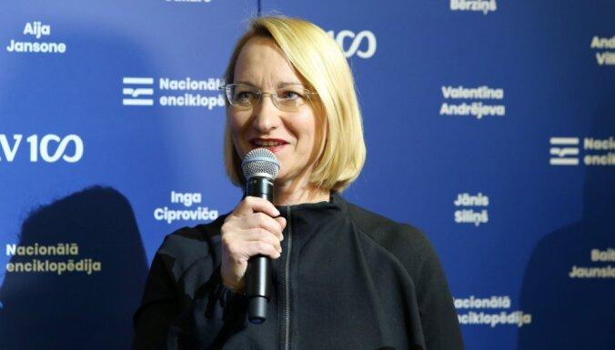 Nacionālā enciklopēdija apliecina Latvijas spēcīgo intelektuālo eliti, atzīst Melbārde
