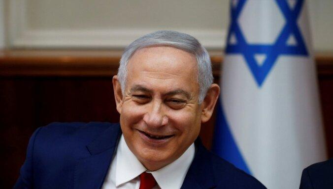 Izraēlas valdības veidošana uzticēta Netanjahu