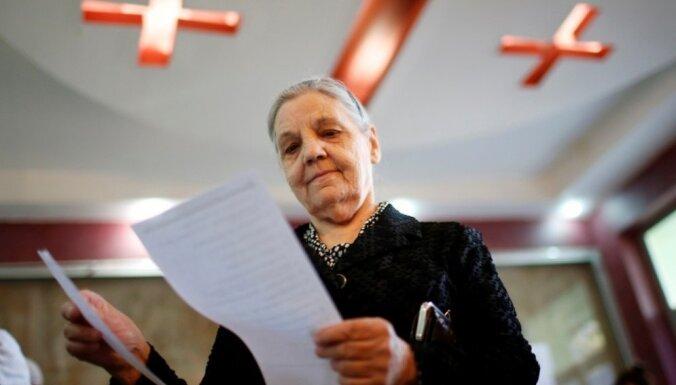 Gruzijā notiek parlamenta vēlēšanas