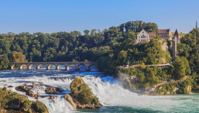 Dabas brīnumu medības Šveicē: lielākais ūdenskritums Eiropā