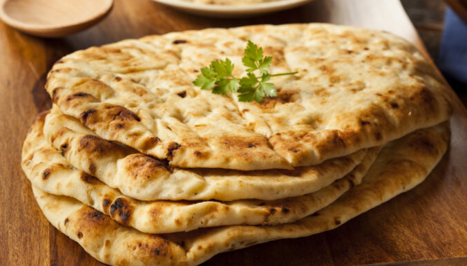Indiešu maize Naana