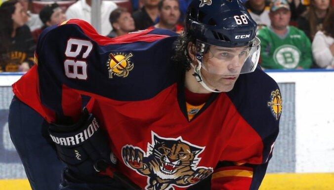 ВИДЕО: Ягр обогнал Хоу и поднялся на третье место по очкам в истории НХЛ
