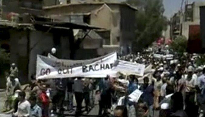 Sīrija pagarina mandātu Arābu līgas novērotāju misijai valstī