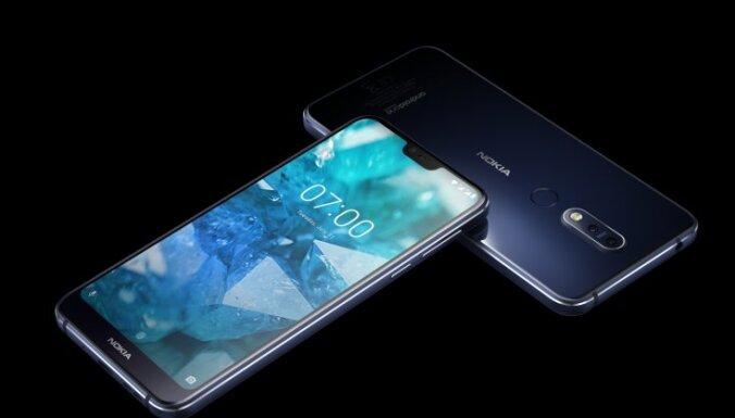Prezentēts jaunais 'Nokia 7.1' viedtālrunis par 300 eiro