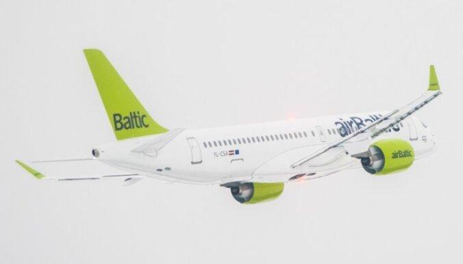 'airBaltic' peļņa pērn sarukusi vairākas reizes – līdz 1,2 miljoniem eiro